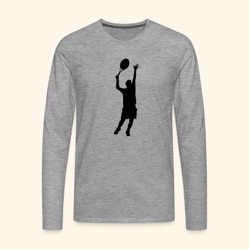 tennisman - T-shirt manches longues Premium Homme