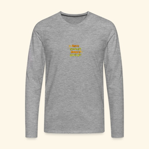 Gossip Girl Gossip Girl Shirts - Men's Premium Longsleeve Shirt