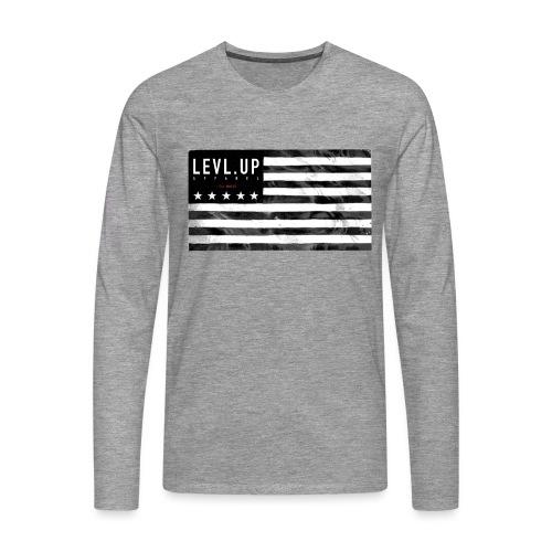 level up 004 png - Men's Premium Longsleeve Shirt