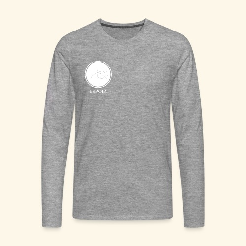 Espoir sun and waves - Men's Premium Longsleeve Shirt