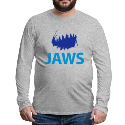 Jaws Dangerous T-Shirt - Men's Premium Longsleeve Shirt