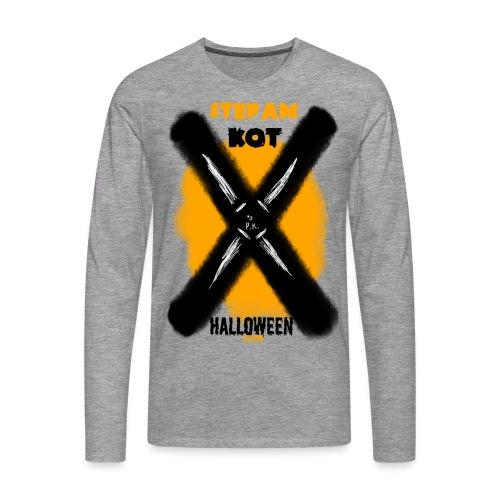HALLOWEEN Edition - Koszulka męska Premium z długim rękawem