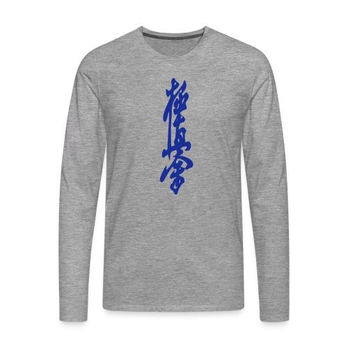KyokuShin - Mannen Premium shirt met lange mouwen