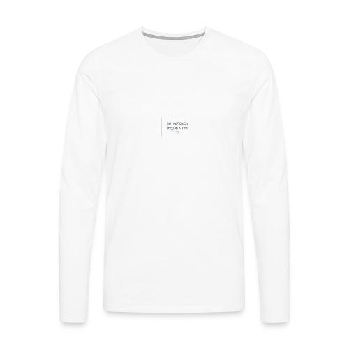 Freundschaft - Männer Premium Langarmshirt