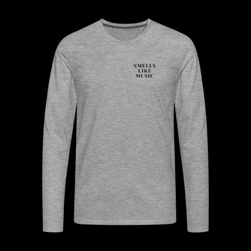 smells like music - Mannen Premium shirt met lange mouwen