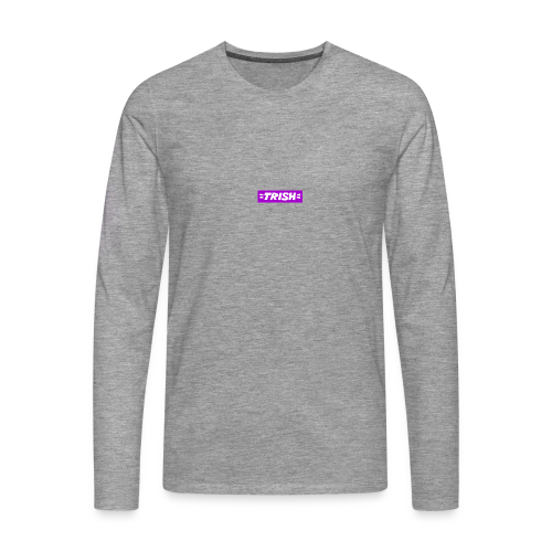 trish logo - Men's Premium Longsleeve Shirt