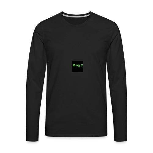 mogc - Herre premium T-shirt med lange ærmer