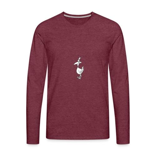 Vogel Design - Männer Premium Langarmshirt