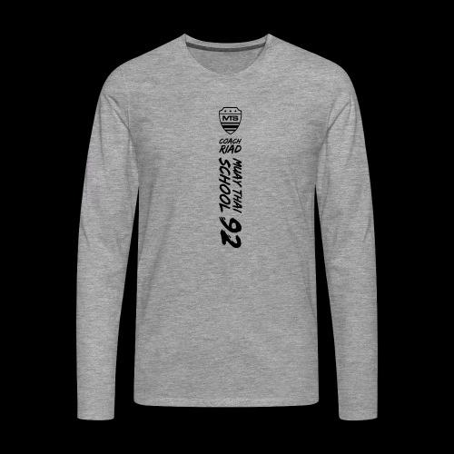 (mst92finalv3) - T-shirt manches longues Premium Homme