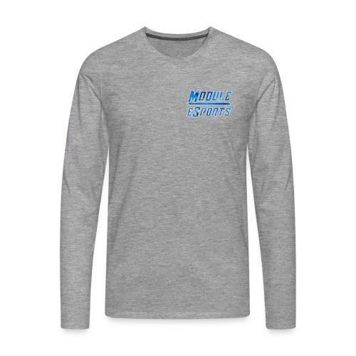 Module Text Logo - Men's Premium Longsleeve Shirt