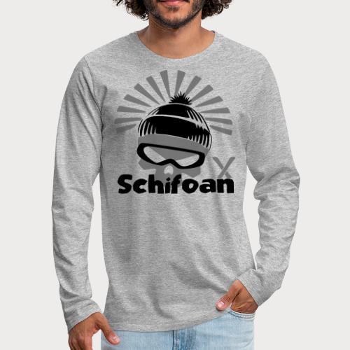 Schifoan - Männer Premium Langarmshirt