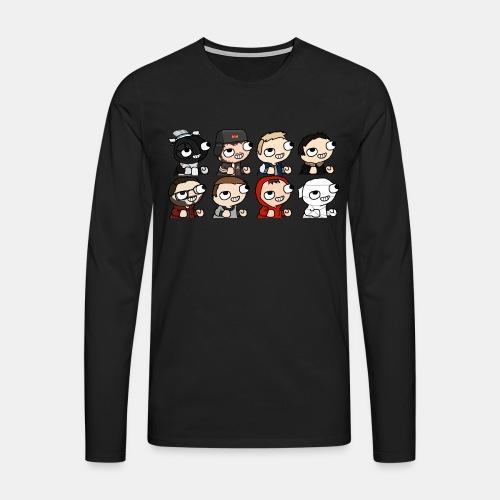 fsjals2 - T-shirt manches longues Premium Homme