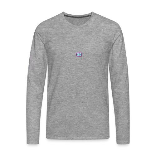 od mallisto - Miesten premium pitkähihainen t-paita