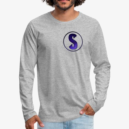 YouTube Logo von Salxphaa - Männer Premium Langarmshirt