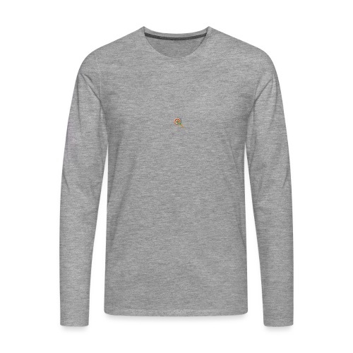 lolly_emoji - Mannen Premium shirt met lange mouwen