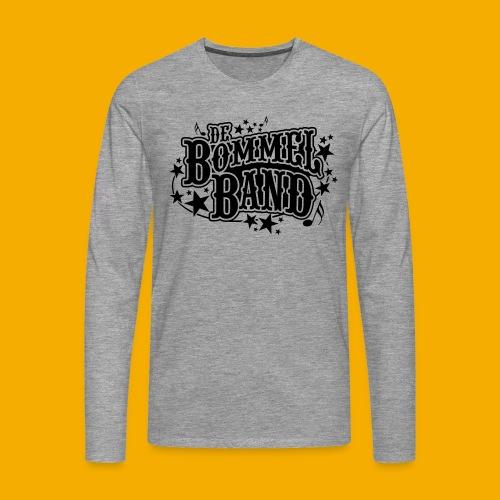 bb logo - Mannen Premium shirt met lange mouwen