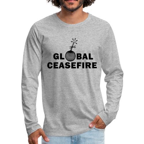 global ceasefire - Men's Premium Longsleeve Shirt