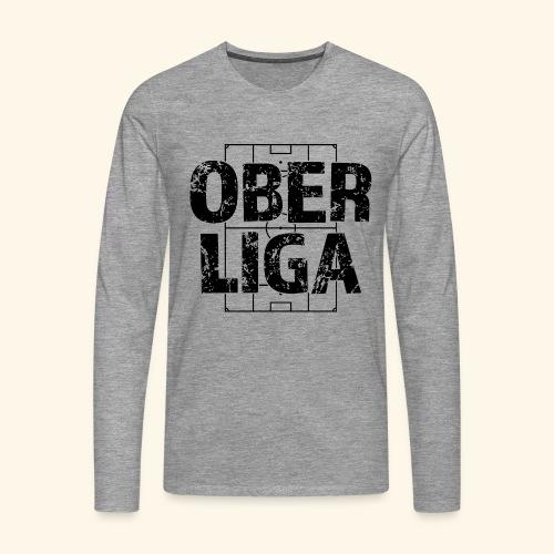 OBERLIGA im Fußballfeld - Männer Premium Langarmshirt