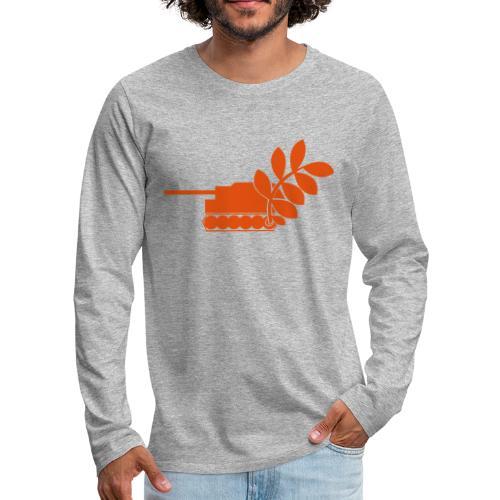 Global Campaign on Military Spending Logo v2 - Men's Premium Longsleeve Shirt