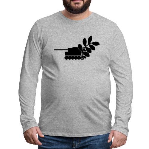 Global Campaign on Military Spending - Logo gray - Men's Premium Longsleeve Shirt