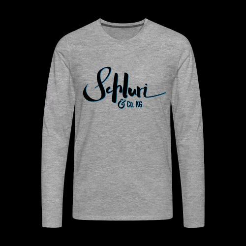Schluri - Männer Premium Langarmshirt