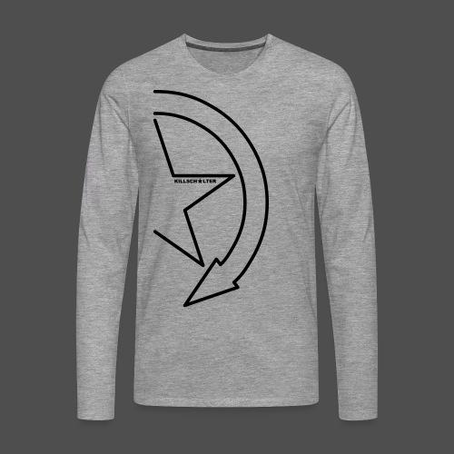 Brand Logo 1/2 9KS07 - Männer Premium Langarmshirt