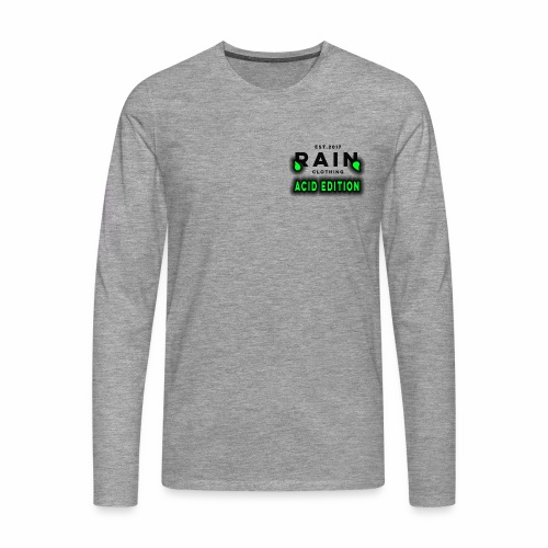Rain Clothing - ACID EDITION - - Men's Premium Longsleeve Shirt