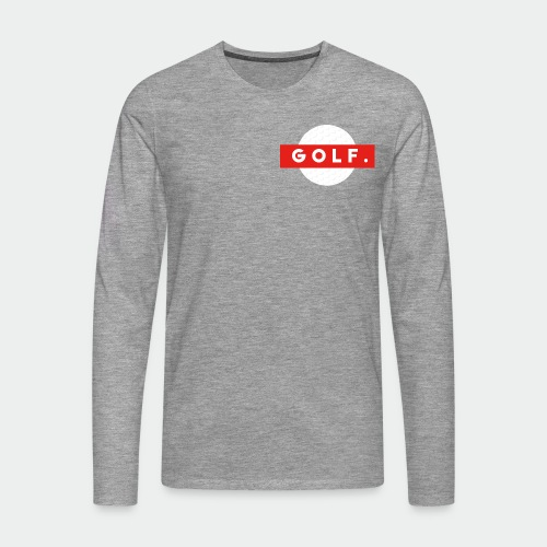 GOLF. - T-shirt manches longues Premium Homme