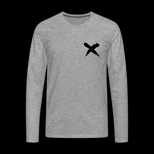 x - Maglietta Premium a manica lunga da uomo