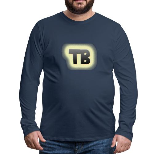 thibaut bruyneel kledij - Mannen Premium shirt met lange mouwen