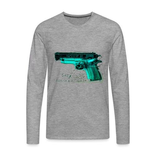 pistole10 - Männer Premium Langarmshirt