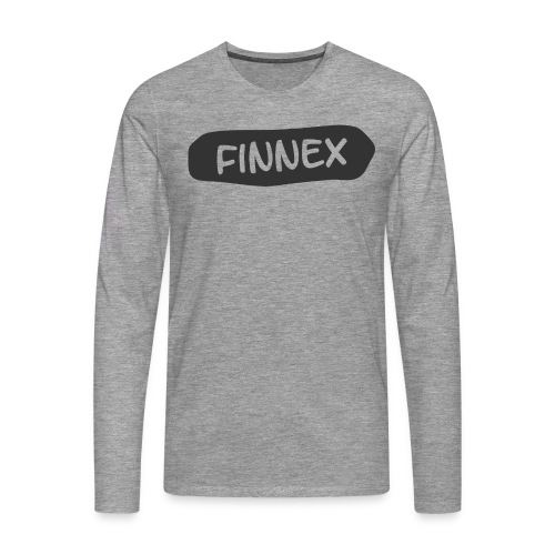 T-Shirt EXTENDED - Männer Premium Langarmshirt