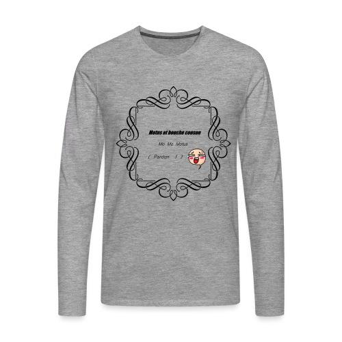 Motus et bouche cousue - T-shirt manches longues Premium Homme
