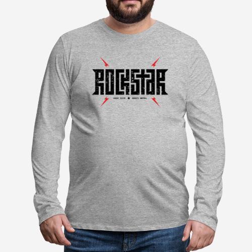 Heavy Metal - Männer Premium Langarmshirt