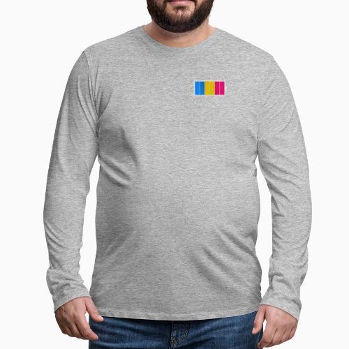 Fulladet Panseksuell - Men's Premium Longsleeve Shirt