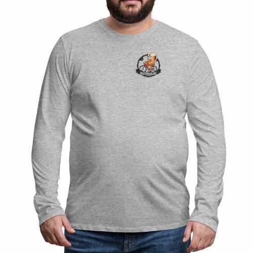 Olutpolkijat - Miesten premium pitkähihainen t-paita