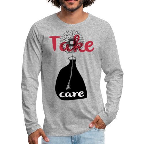 take_care - Maglietta Premium a manica lunga da uomo