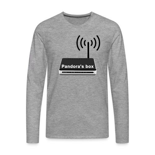 Pandora's box - Männer Premium Langarmshirt