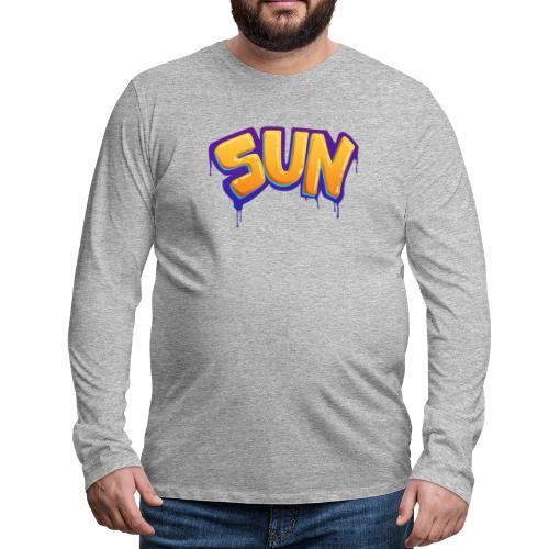 Tag Sun - T-shirt manches longues Premium Homme