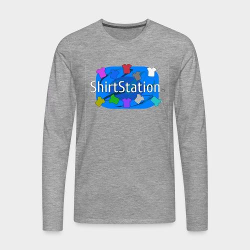 ShirtStation - Men's Premium Longsleeve Shirt