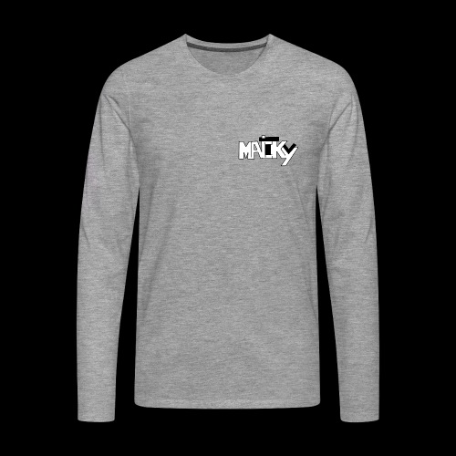MaickyTv - Männer Premium Langarmshirt