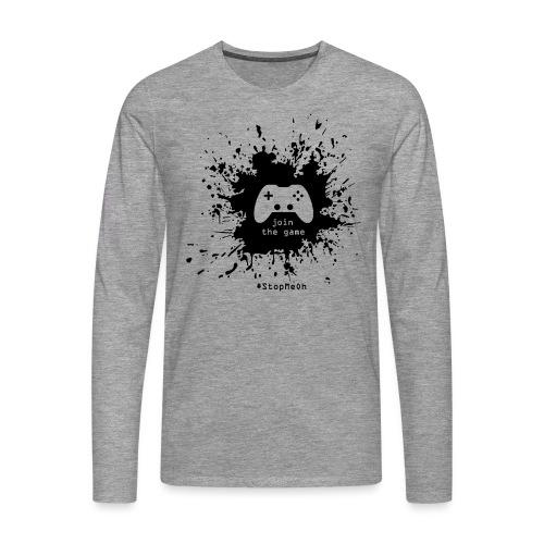 Join the game - Men's Premium Longsleeve Shirt