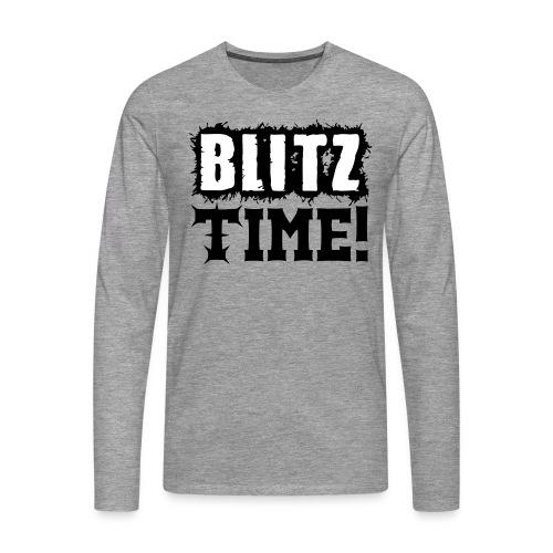 Blitz Time! - T-shirt manches longues Premium Homme