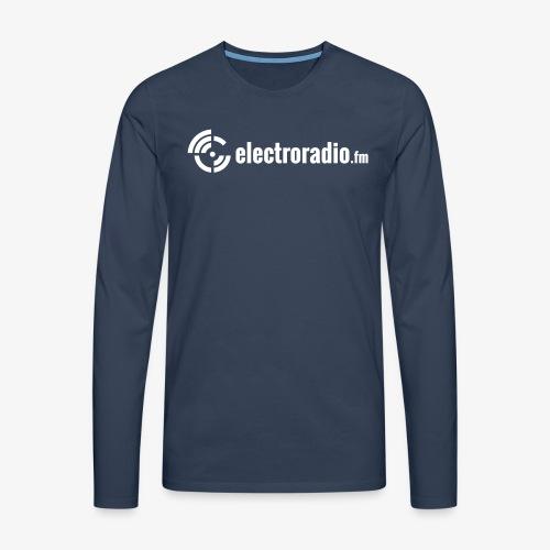 electroradio.fm - Männer Premium Langarmshirt