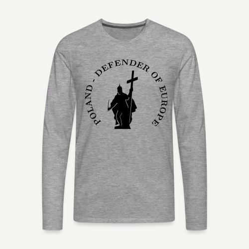 polanddoe - Koszulka męska Premium z długim rękawem
