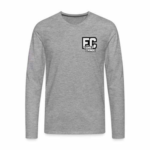 FAMILY CRINGE - Långärmad premium-T-shirt herr