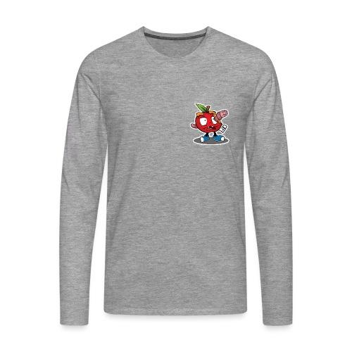 Apfel - Männer Premium Langarmshirt