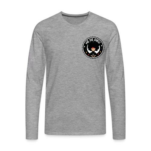 ne de Dieu - T-shirt manches longues Premium Homme