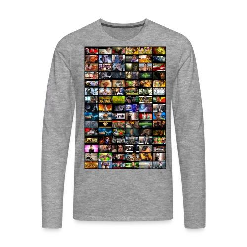 miniatyrermindre2 - Långärmad premium-T-shirt herr