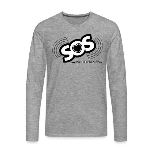 SOS - Männer Premium Langarmshirt